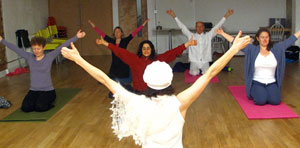 Kundalini Yoga kriya with Anna Ranprem, London